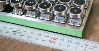 Planck Keyboard Width