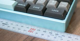 MiniVan Keyboard Width
