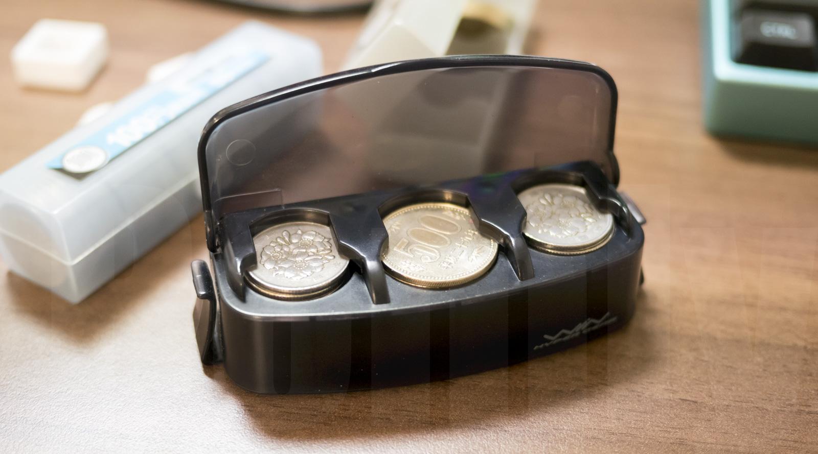 昔なつかしコインホルダー