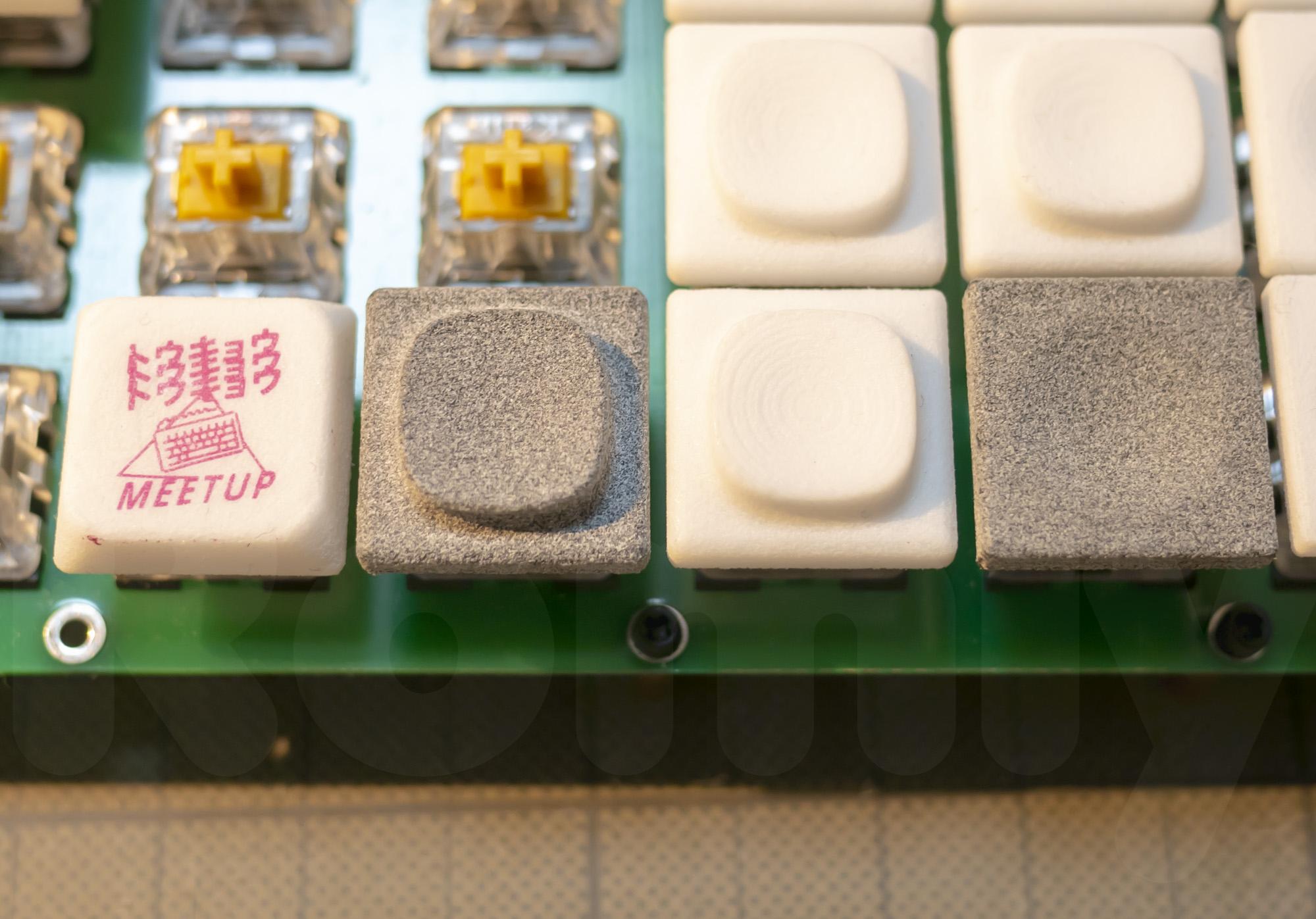 DMM.make MJF Fancy Keycap compare to Nylon