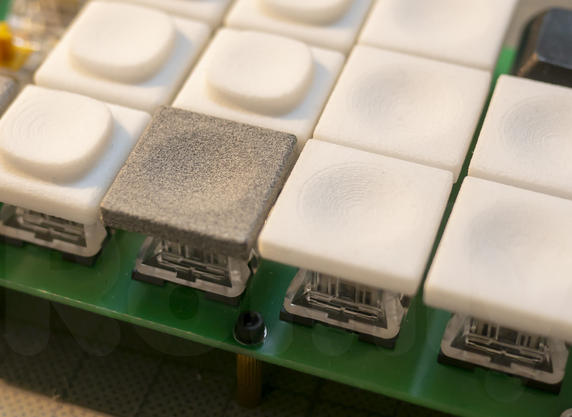 DMM.make MJF Flat Concave Keycap compare to Nylon