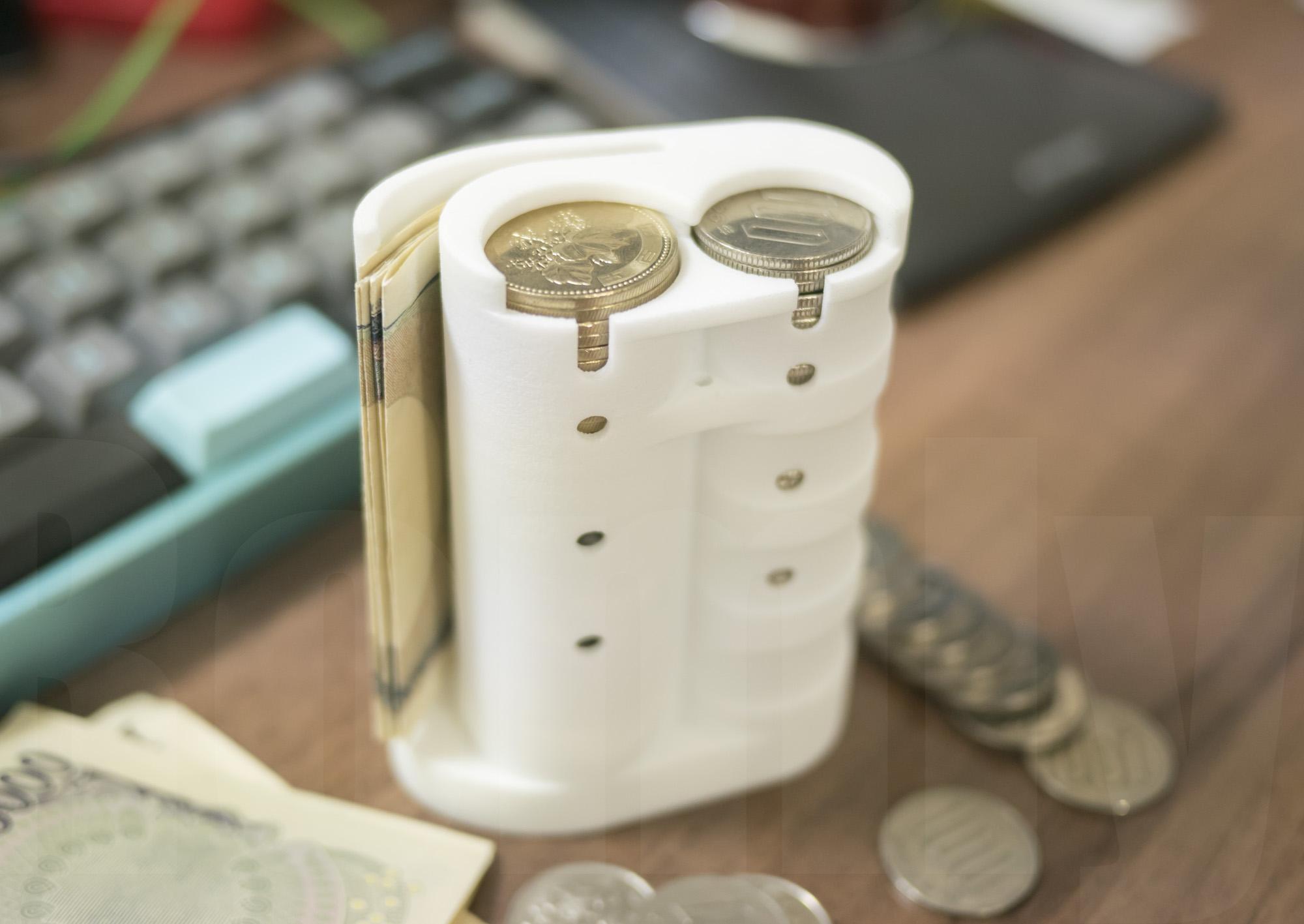 Dojin Coin Cylinder - Usecase