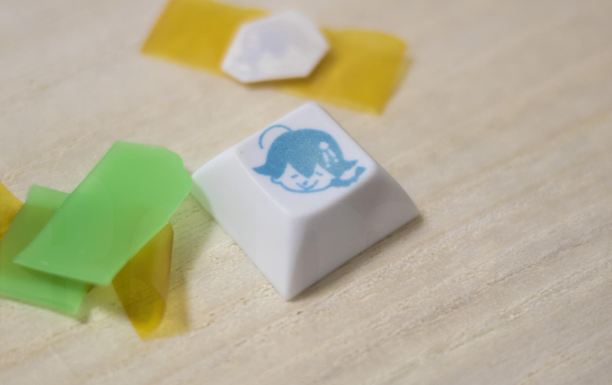 Keycap dye-sub succeed!!
