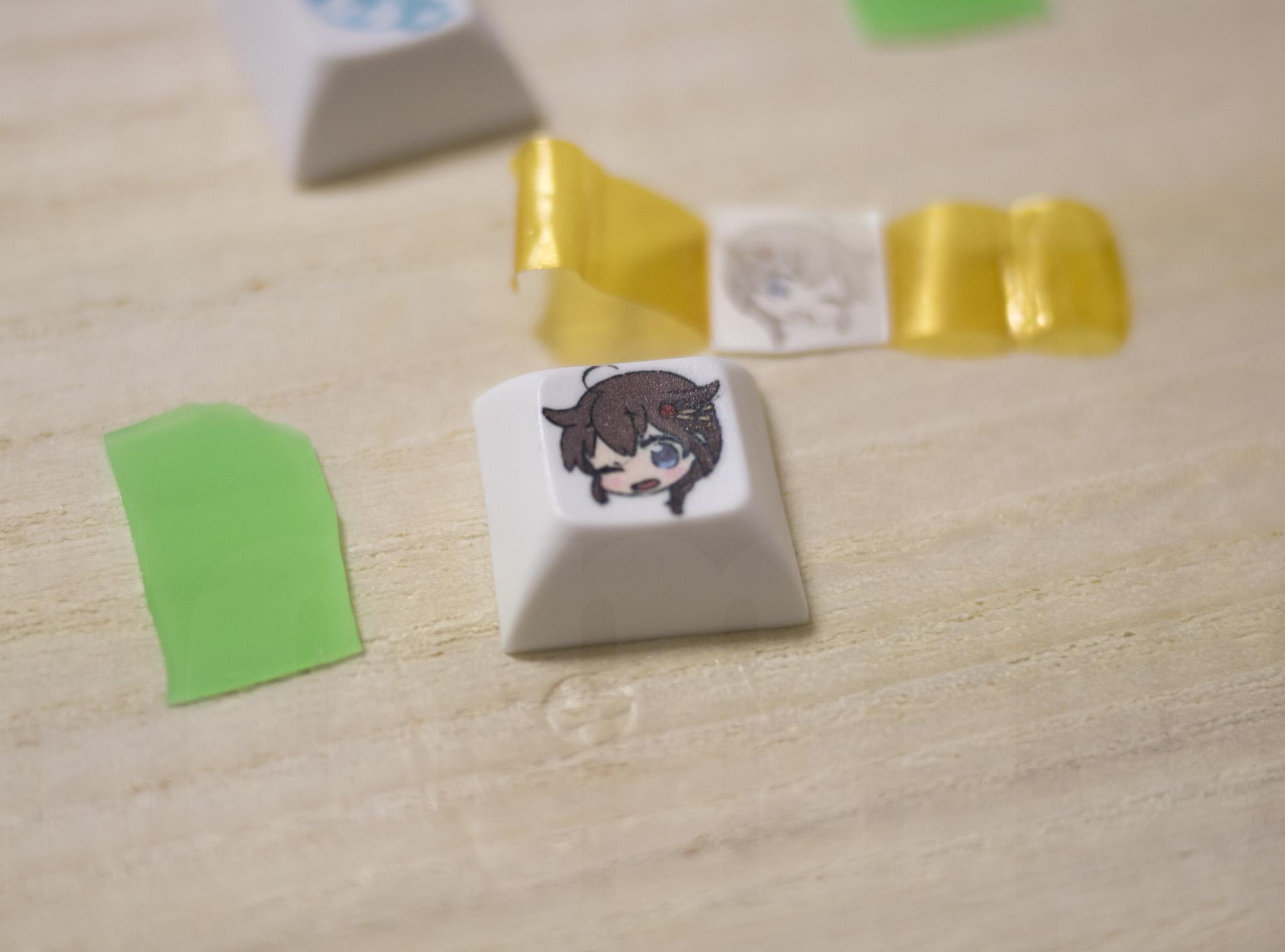 Keycap dye-sub Kan-colle Shigure