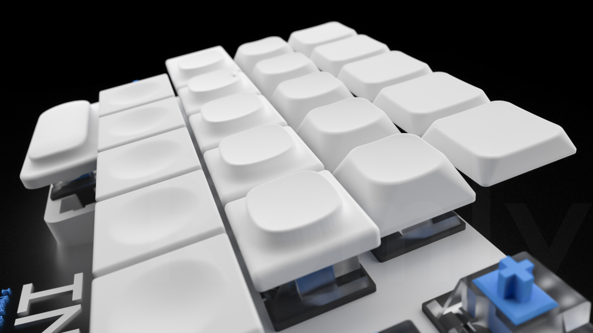 INSS40 keycaps