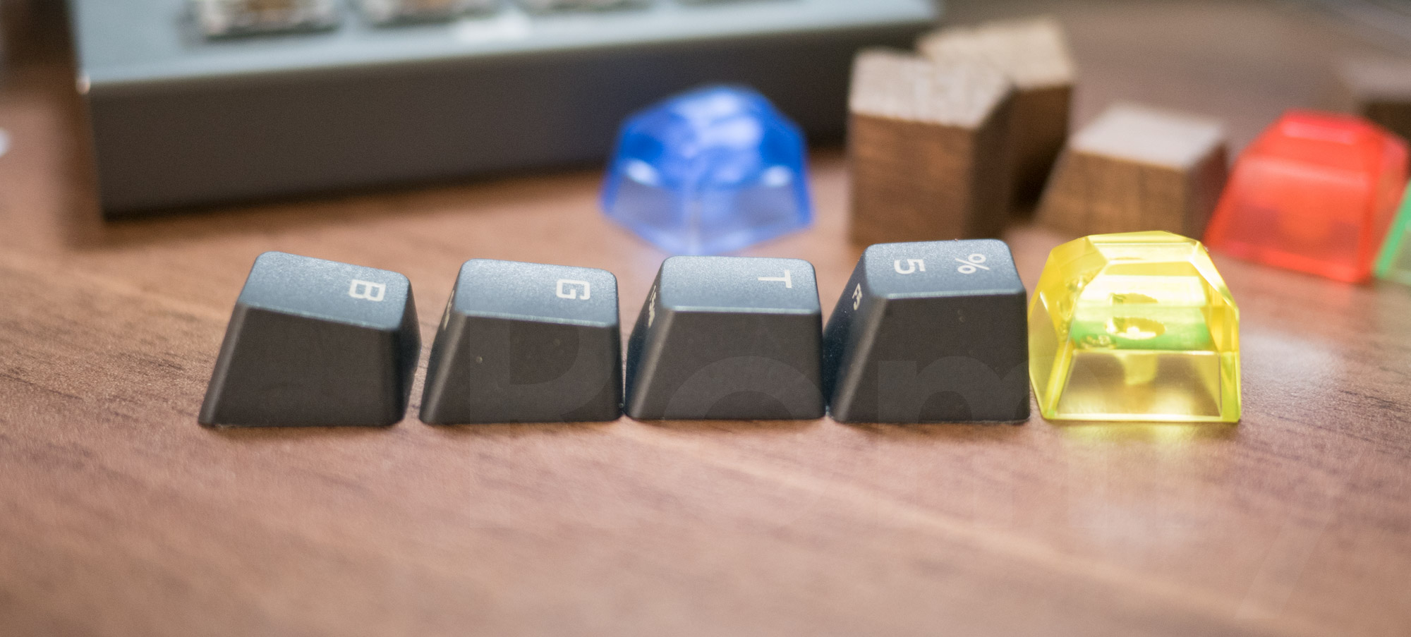 Gem Artisan Keycaps Height