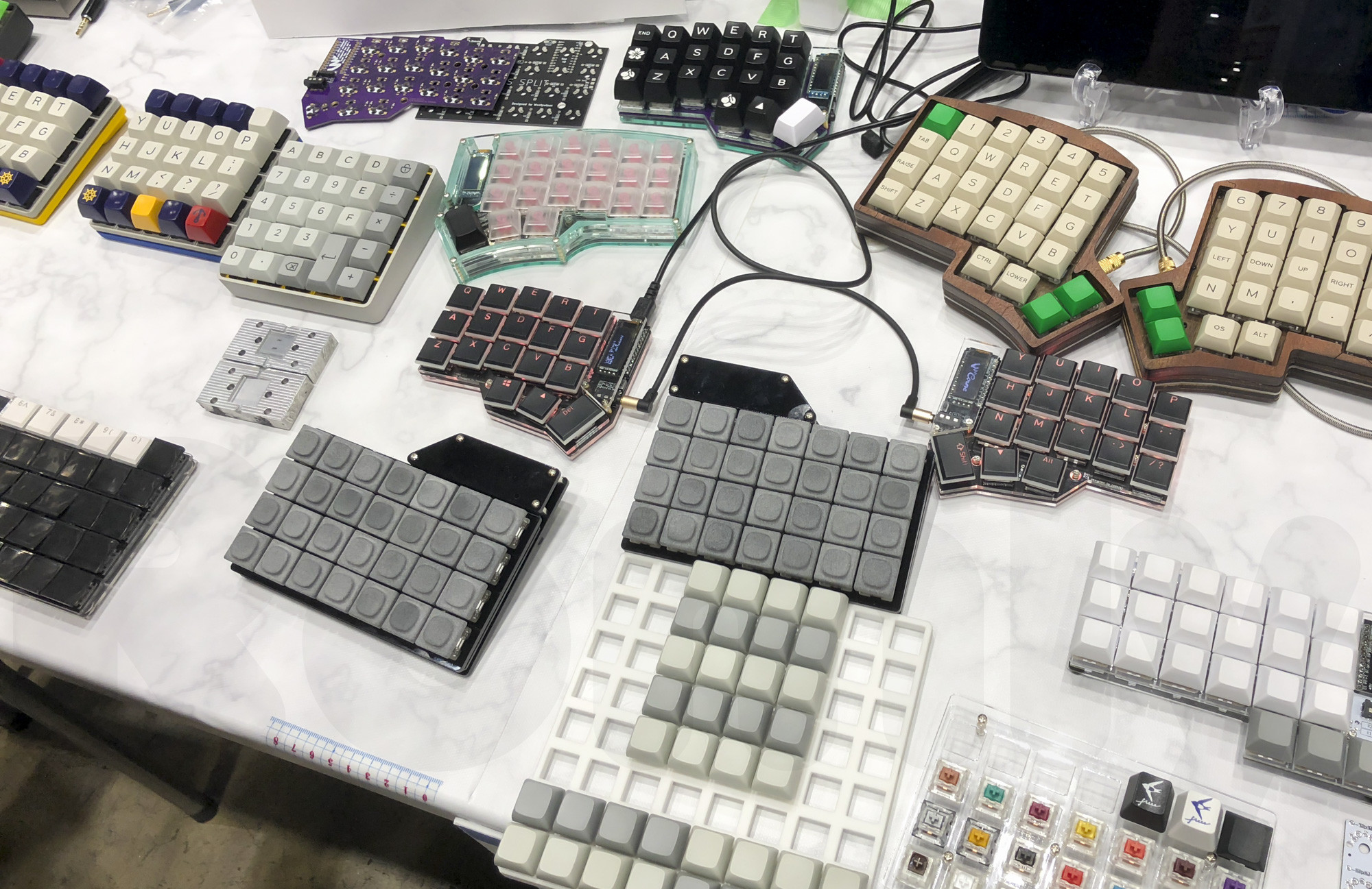 Self Made Keyboard in Japan 1