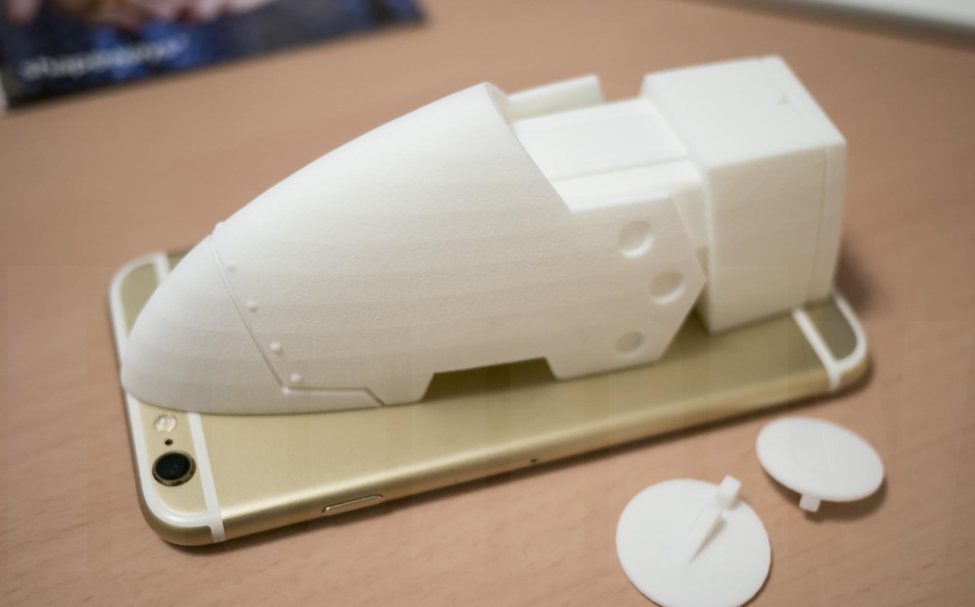 ミミノアーレ 3Dプリントモデル 大きさ