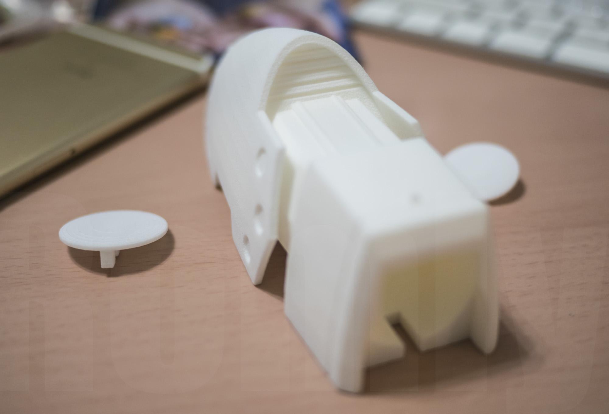 ミミノアーレ 3Dプリントモデル 後部