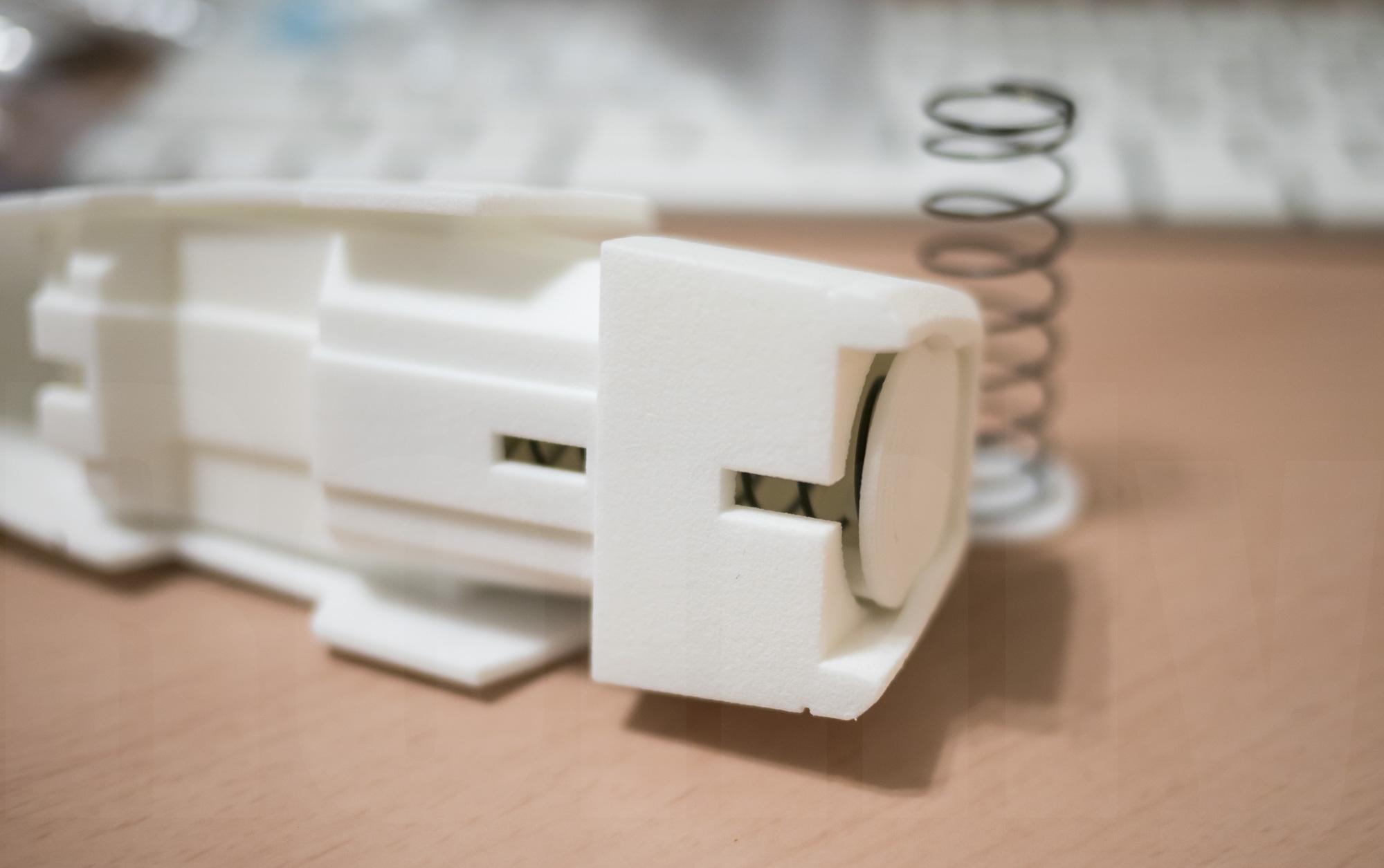 ミミノアーレ 3Dプリントモデル スプリング機構