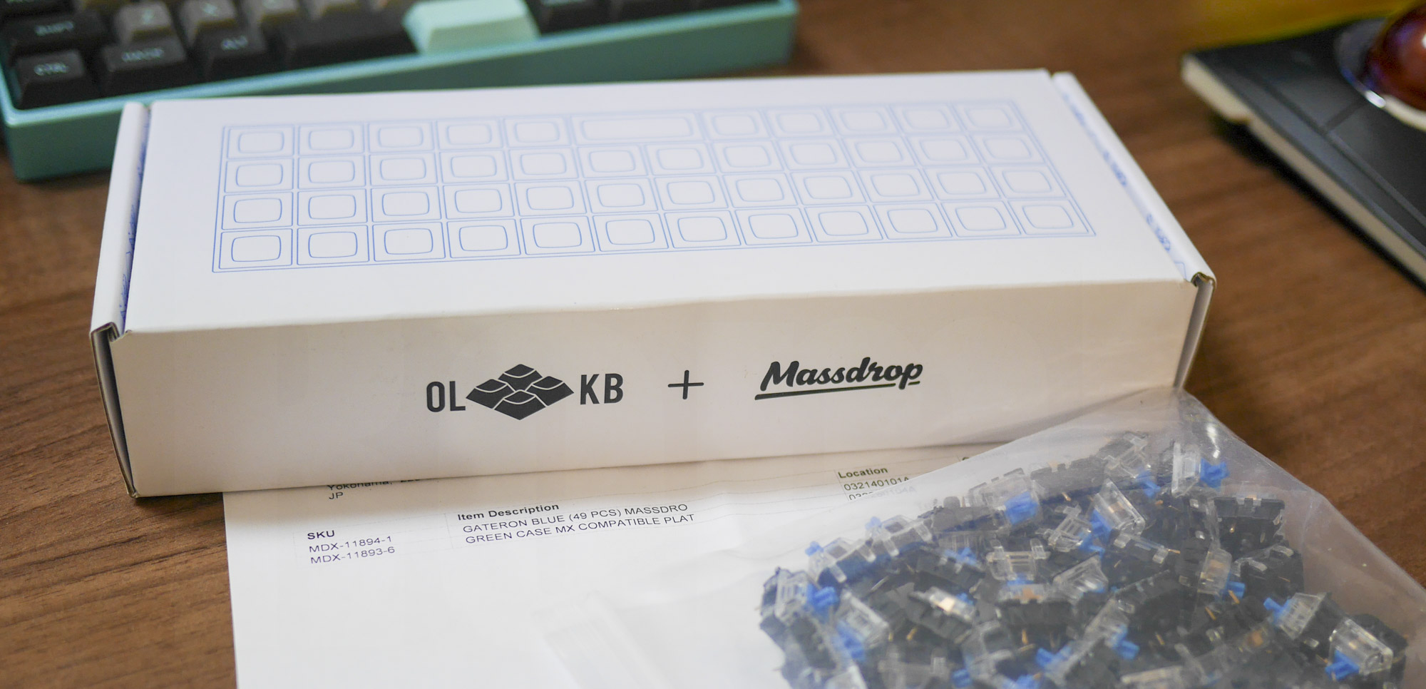 Massdrop x OLKB Planck Mechanical Keyboard Kit