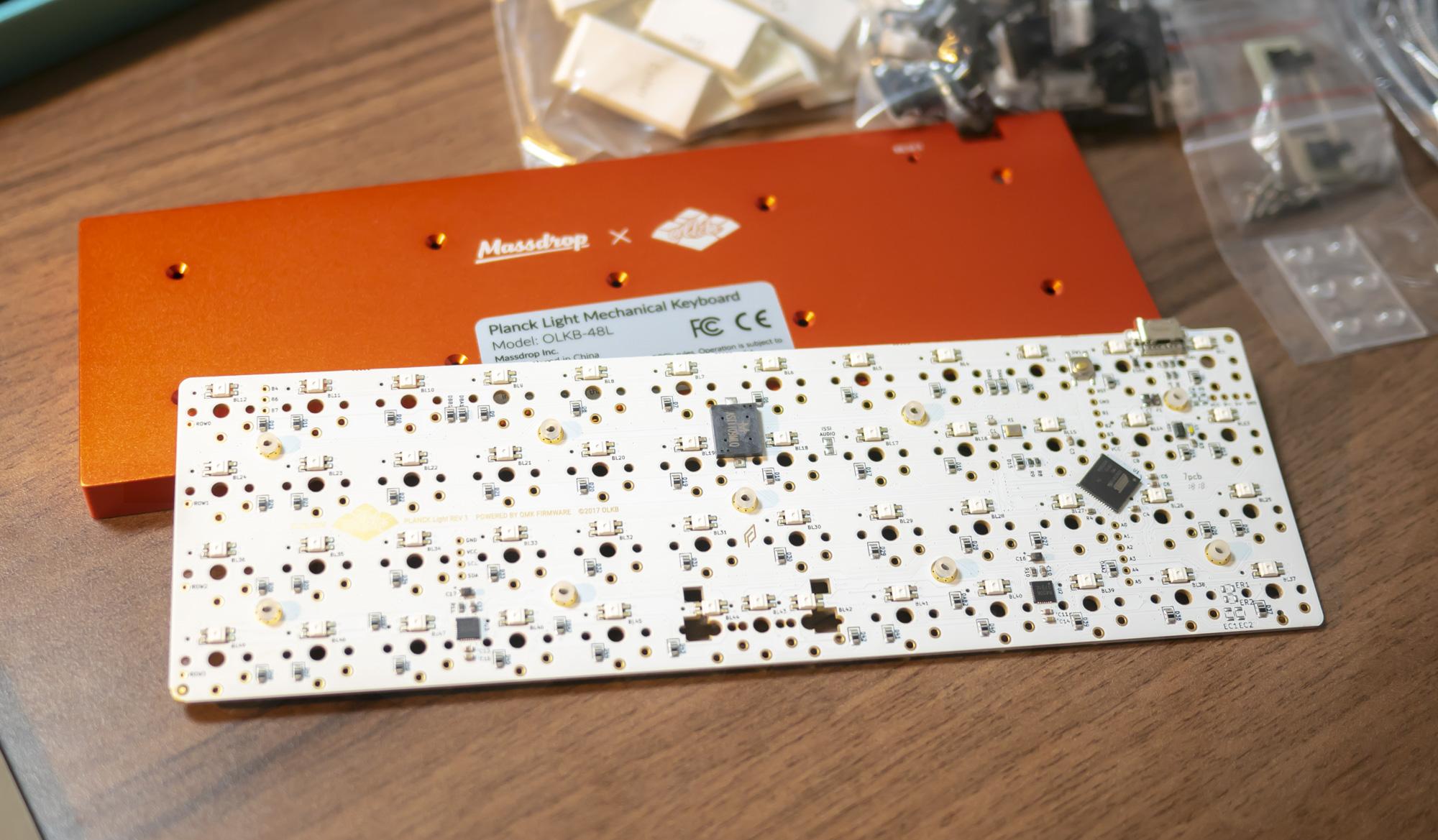 Planck Light PCB