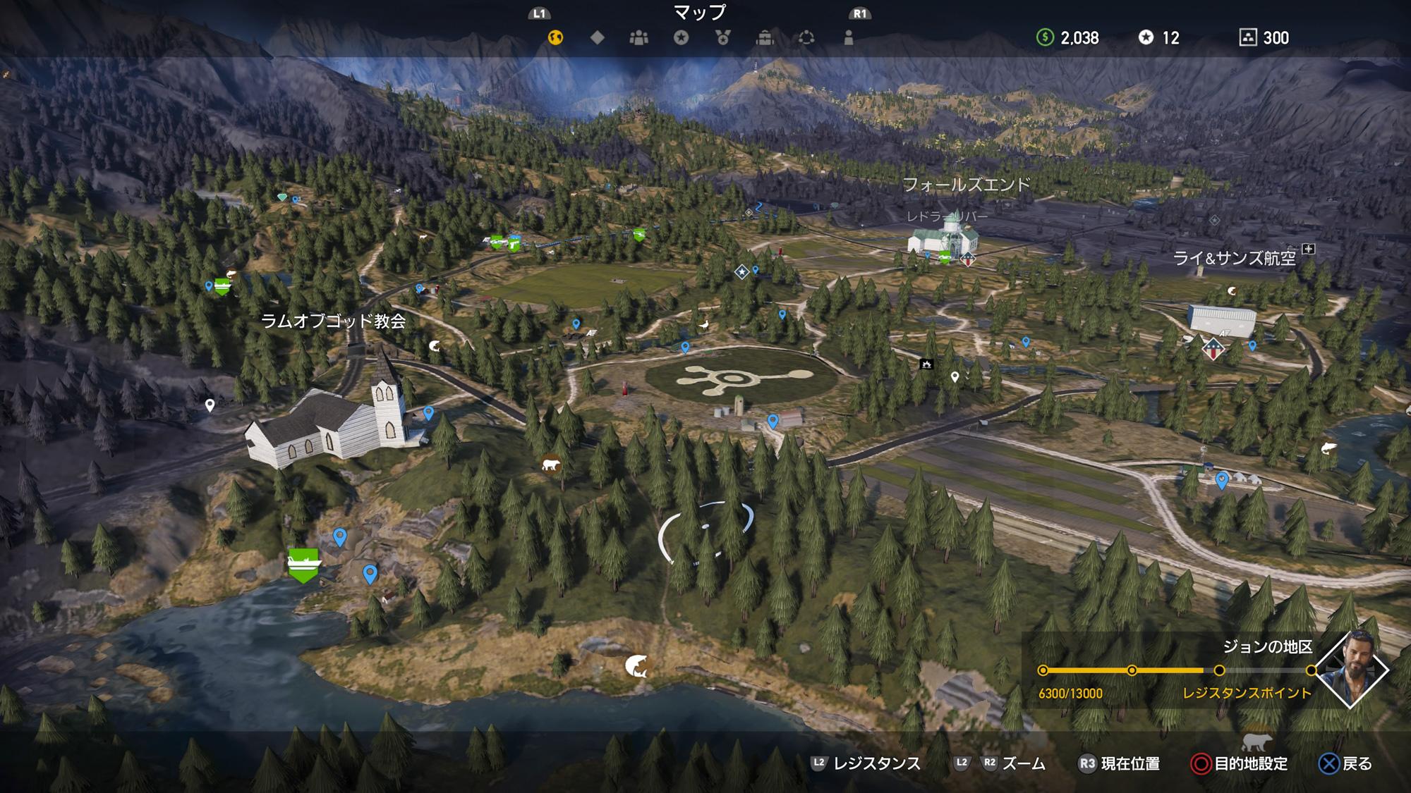 FARCRY5 3Dマップ