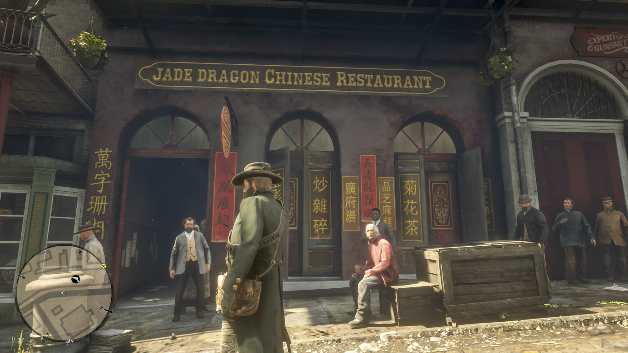 Red Dead Redemption 2 Chinese Restaurant
