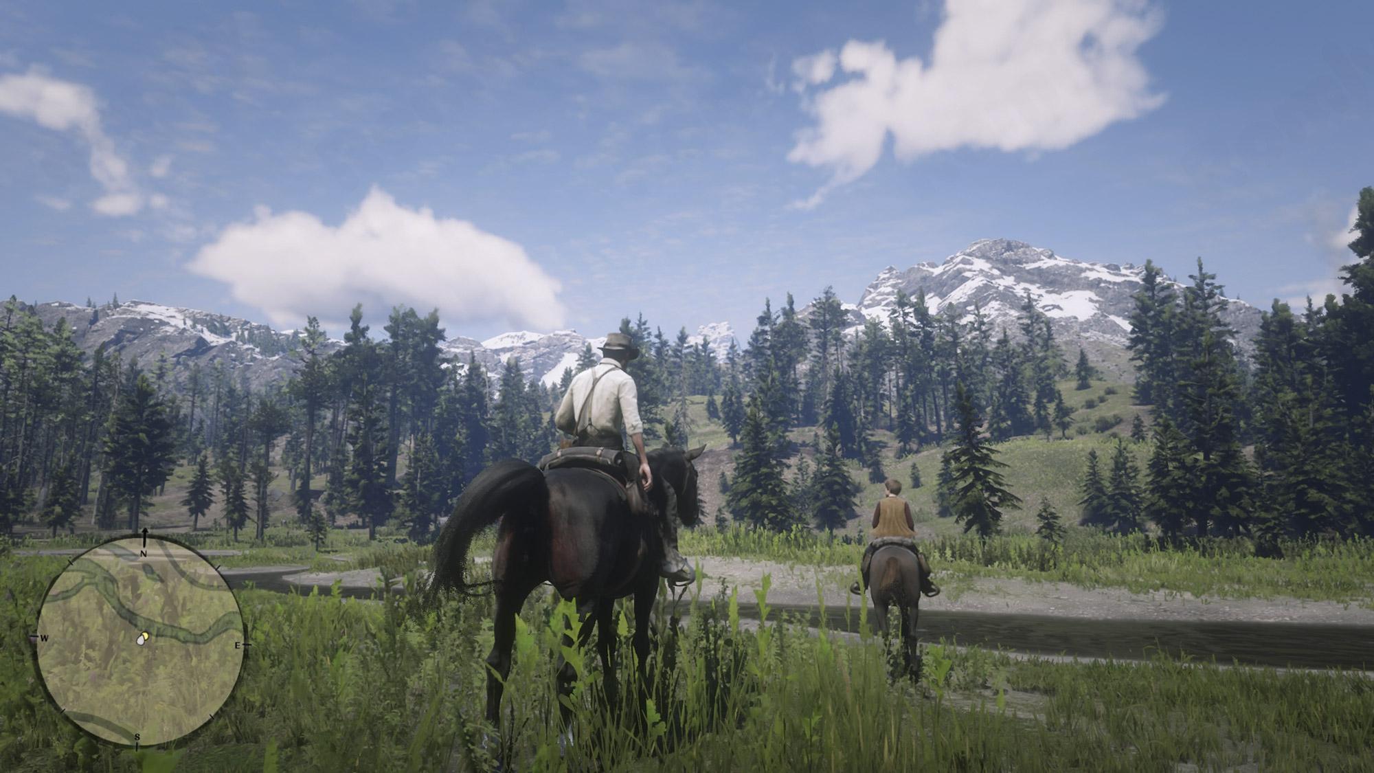 Red Dead Redemption 2 美しい景色
