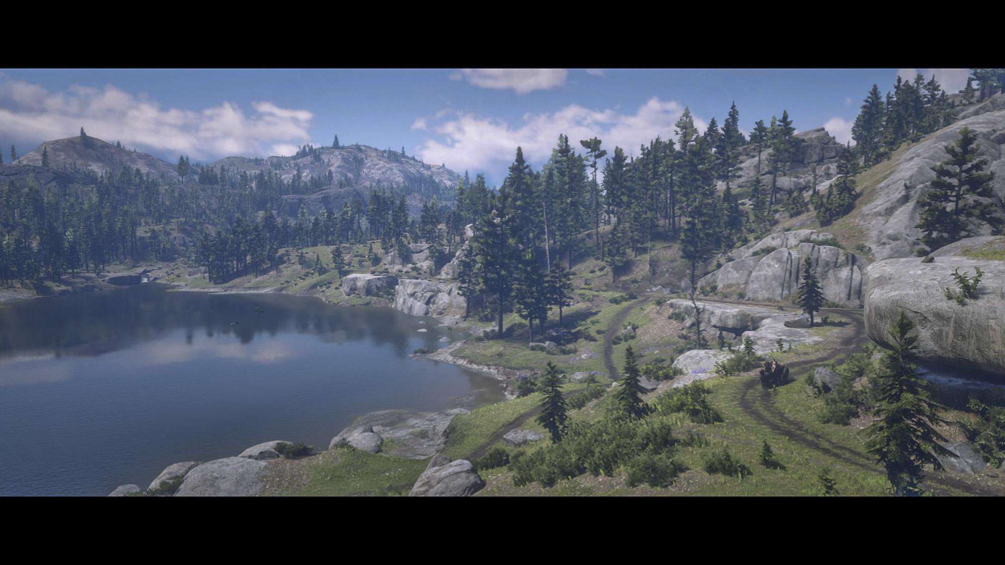 Red Dead Redemption 2 美しい湖畔