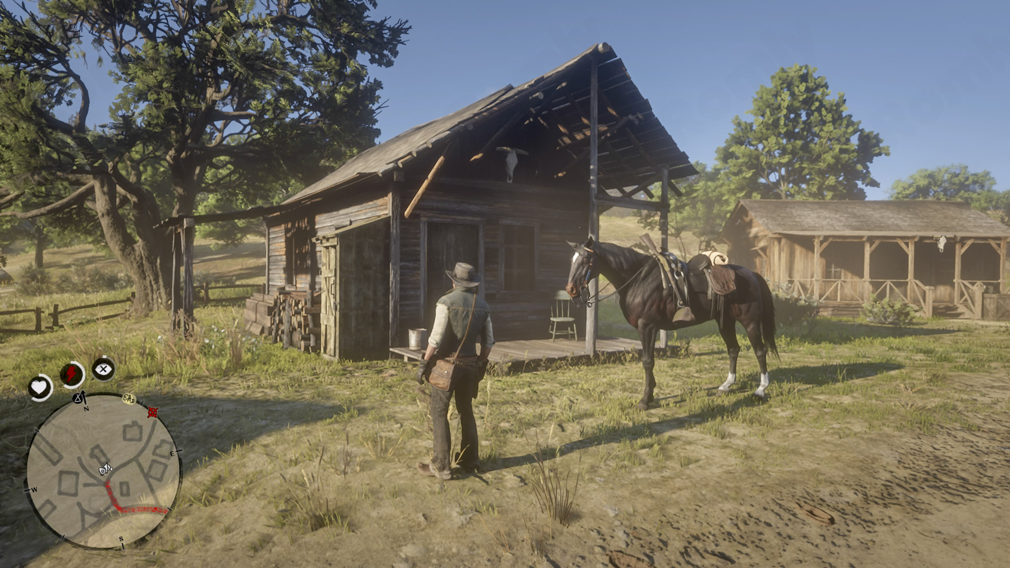 Red Dead Redemption 2 マーストンさんの家