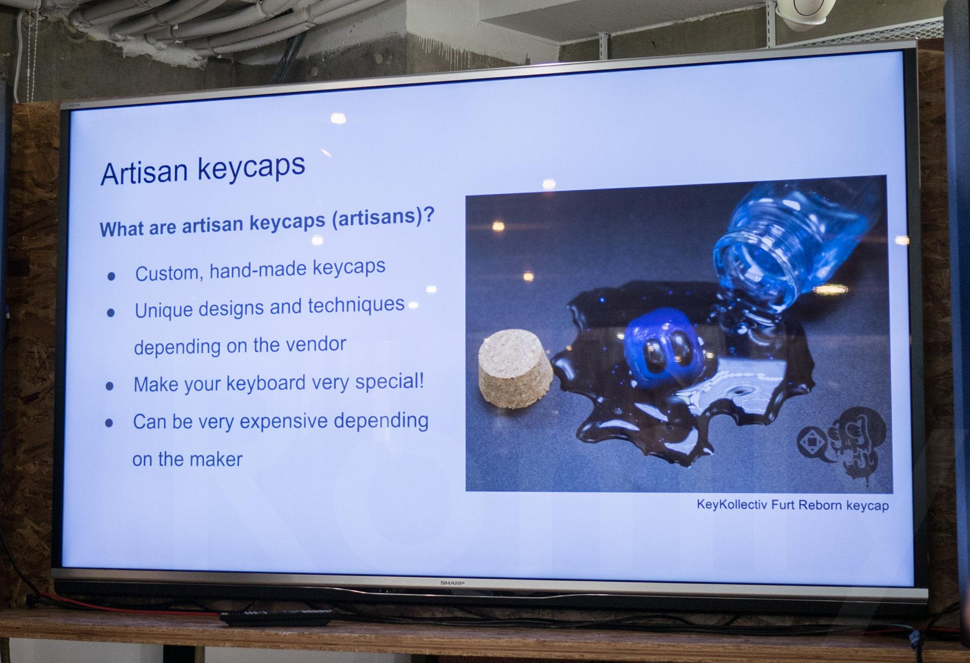 Artisan keyboard making