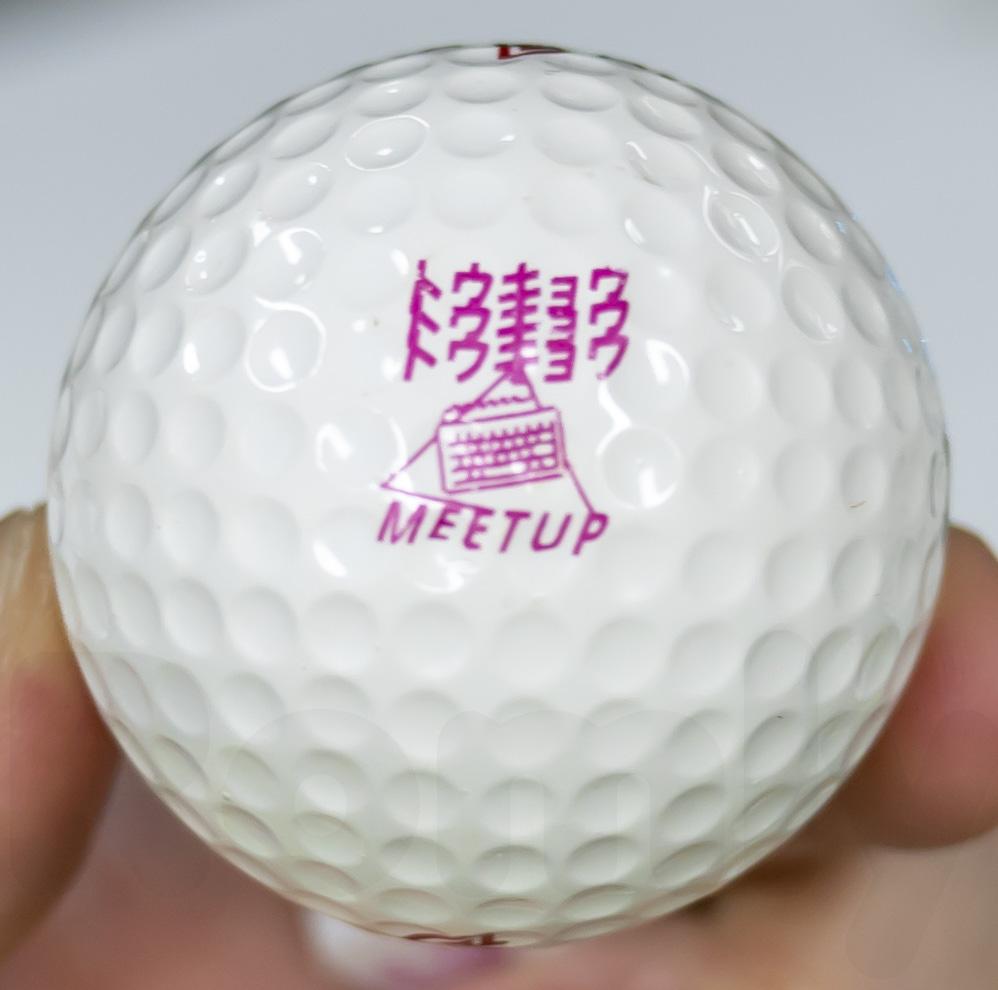 Tokyomk4 安心堂 ゴルフボールへの印刷