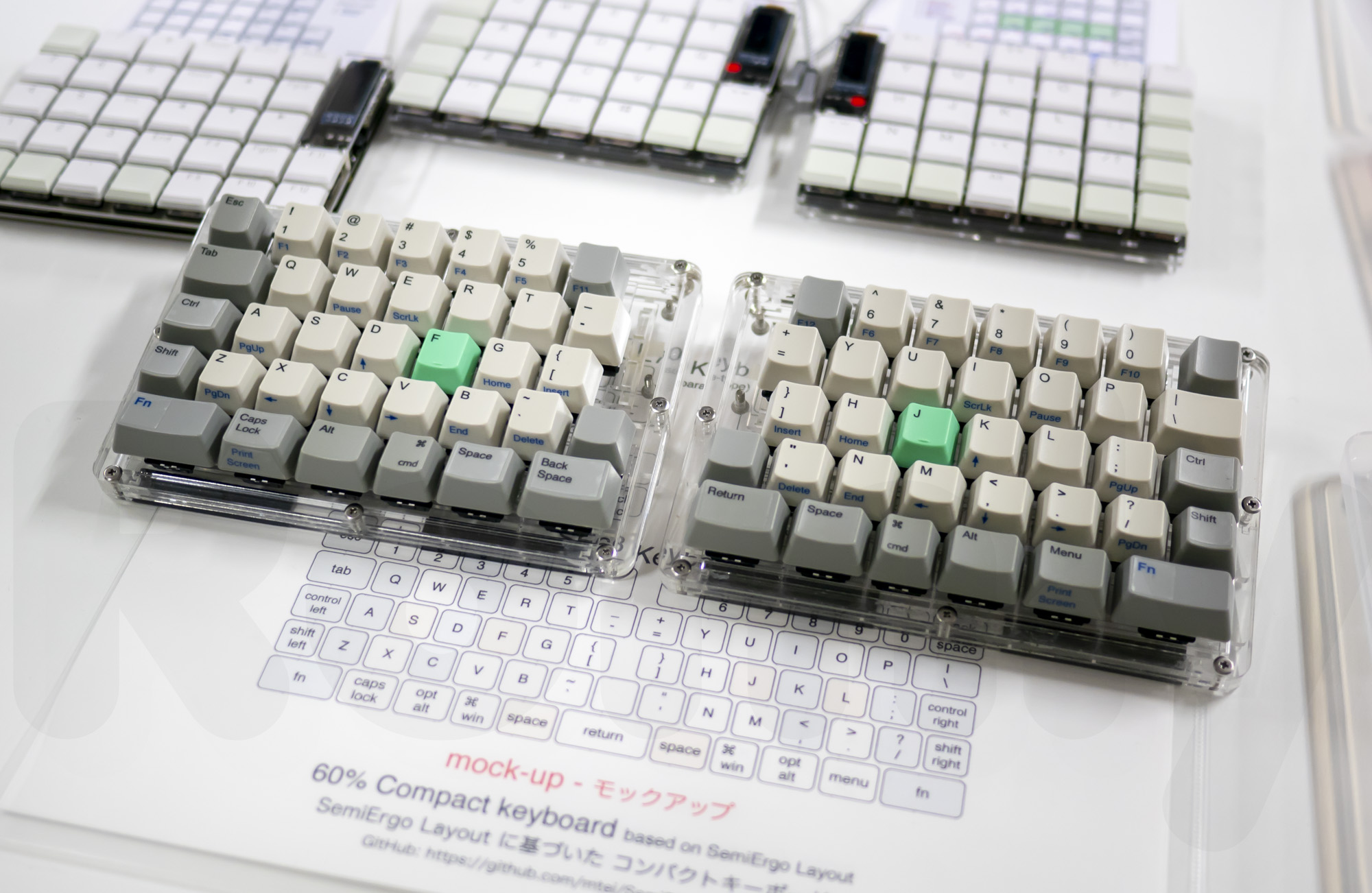 60% Compact Keyboard by m.tei