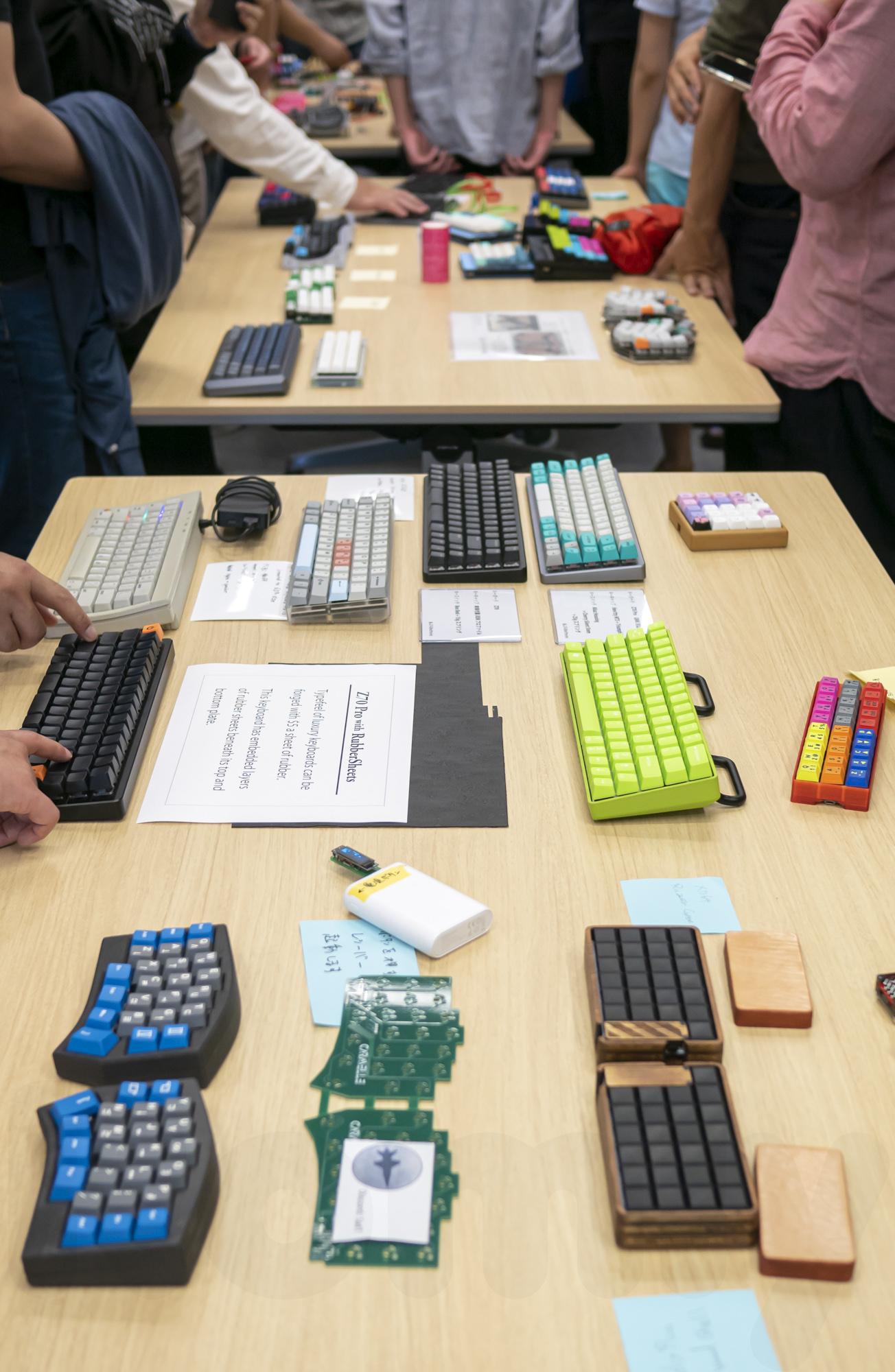 Photos] Tokyo Mechanical Keyboard Meetup Vol 6 – Romly