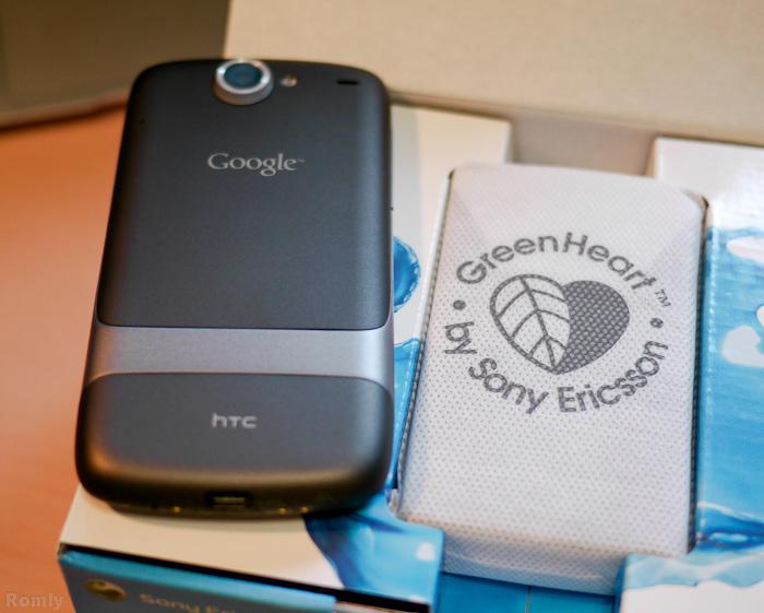 Nexus Oneと比較