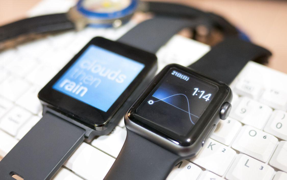 LG G WatchとApple Watch Sports
