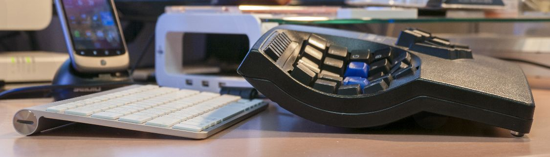 Kinesis Contoured Keyboard 高さ