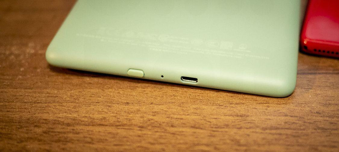 Kindle Paperwhite Sage - ボタン