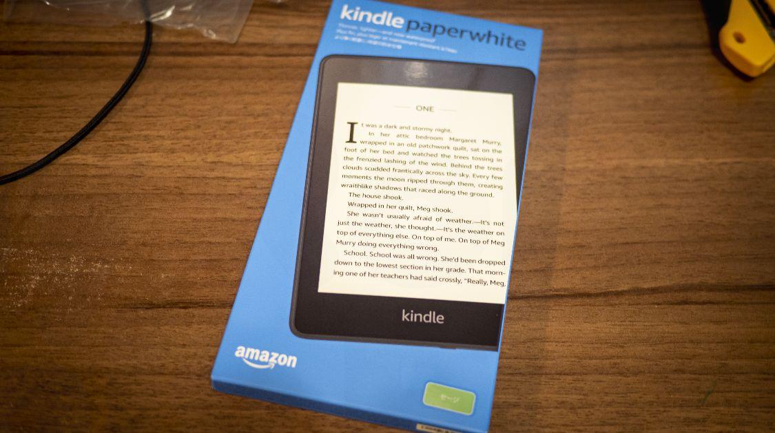 Kindle Paperwhite Sage - パッケージ