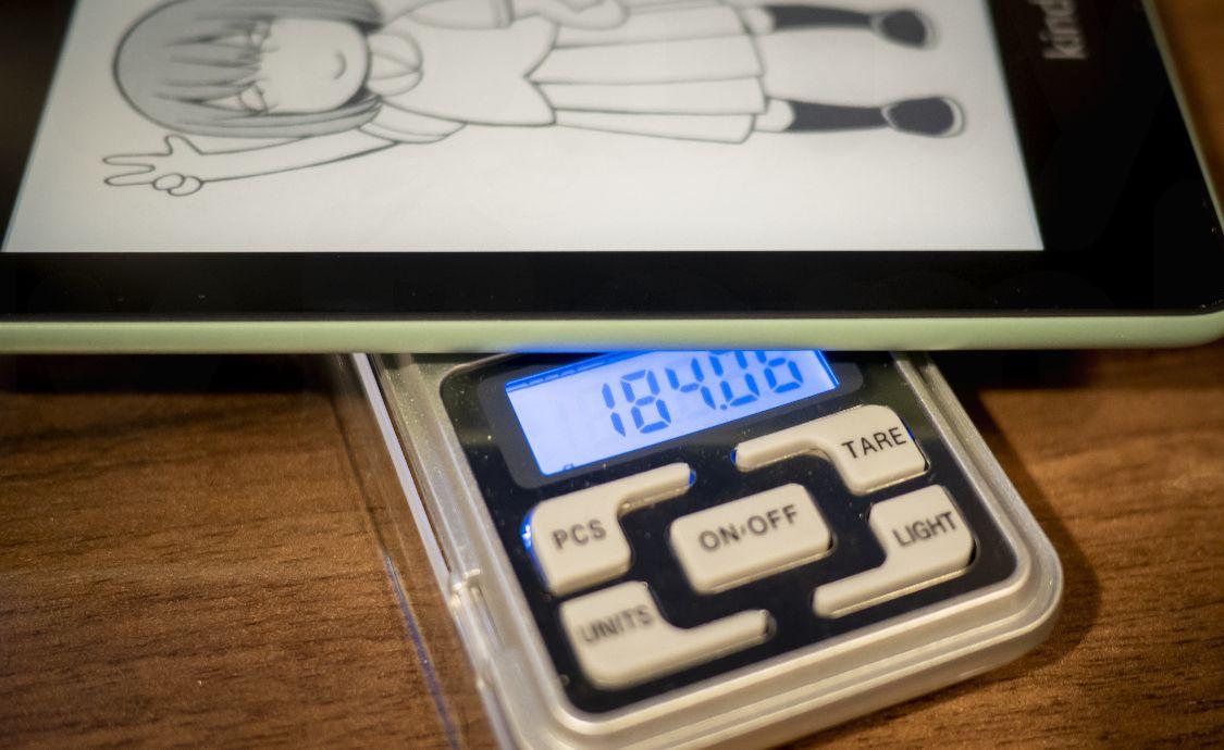 Kindle Paperwhite Sage - 重量