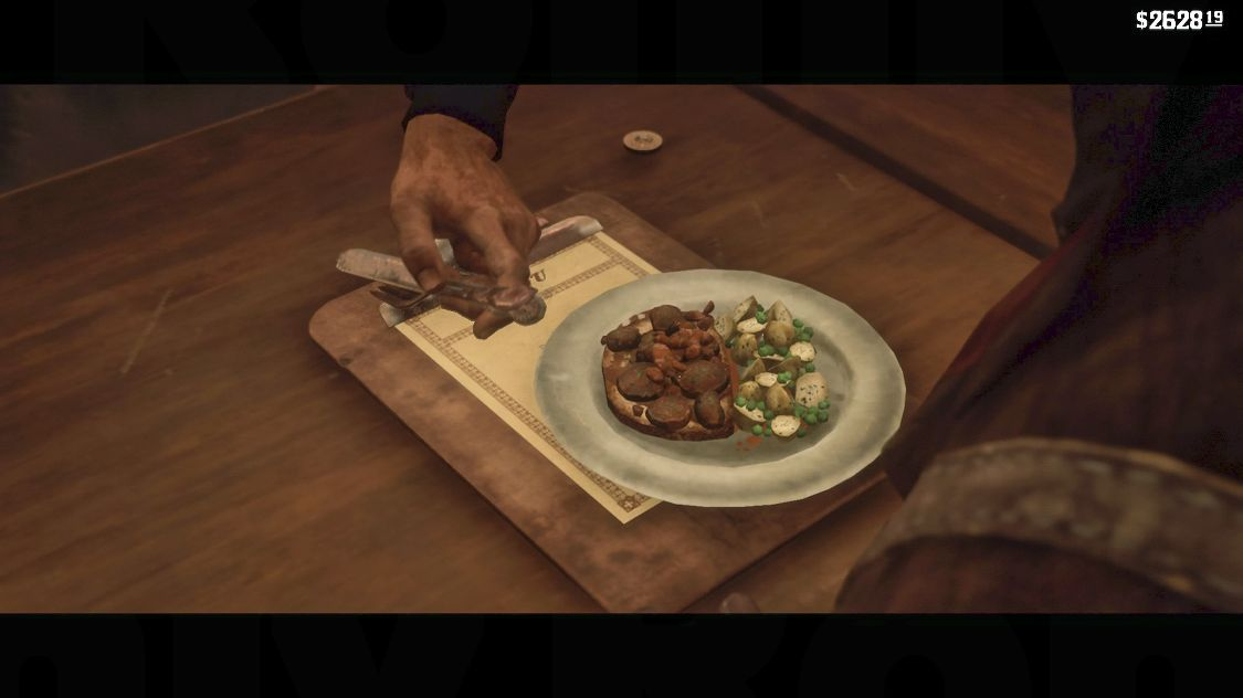 Red Dead Redemption 2 食事