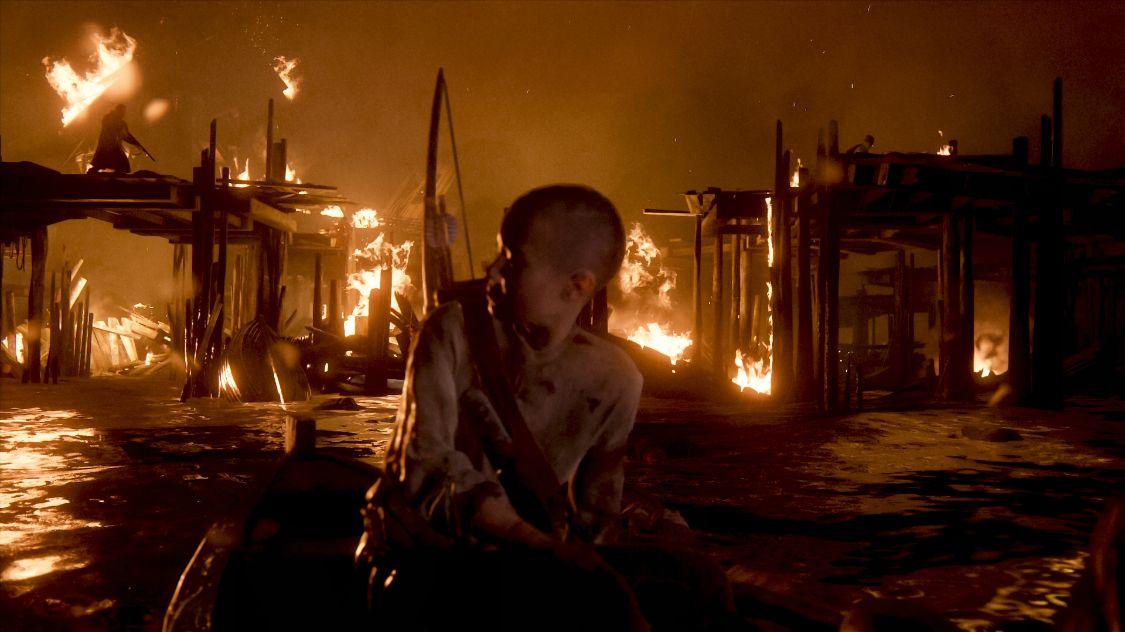 セラファイトの島の炎上