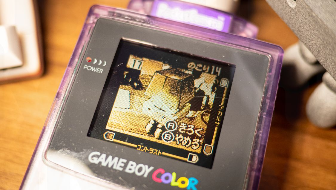 Gameboy PocketCamera