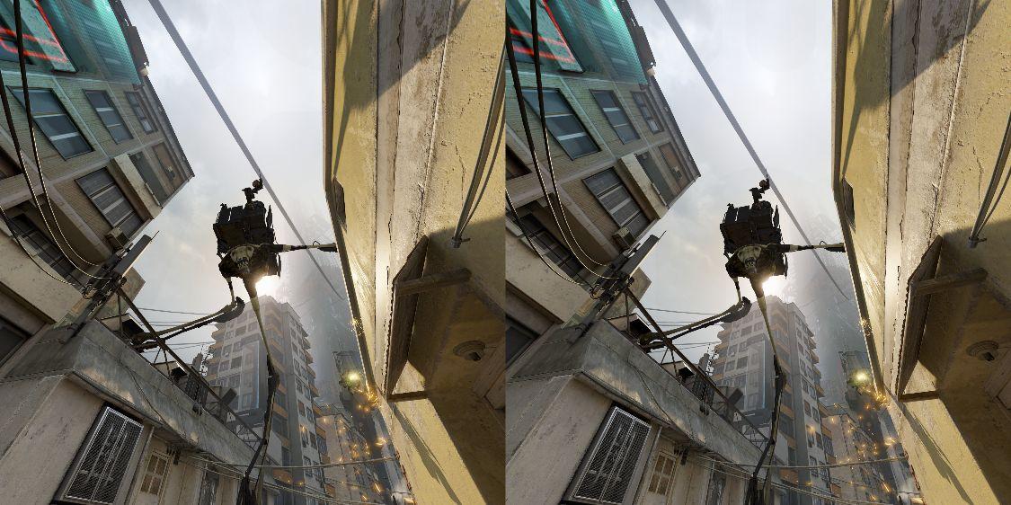 街を徘徊するストライダー