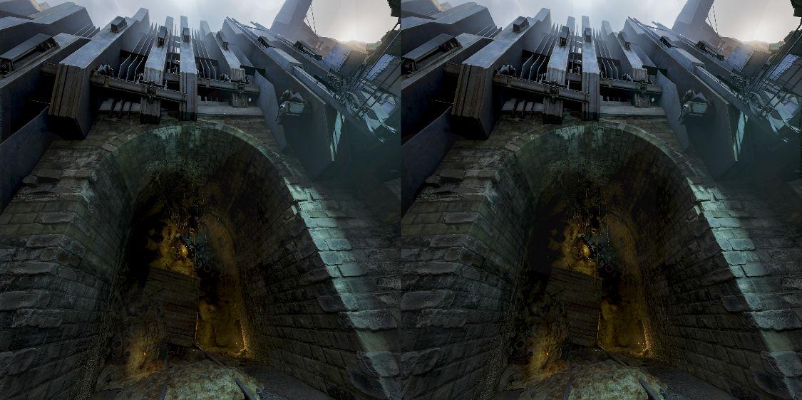 汚染地区へ続くトンネル