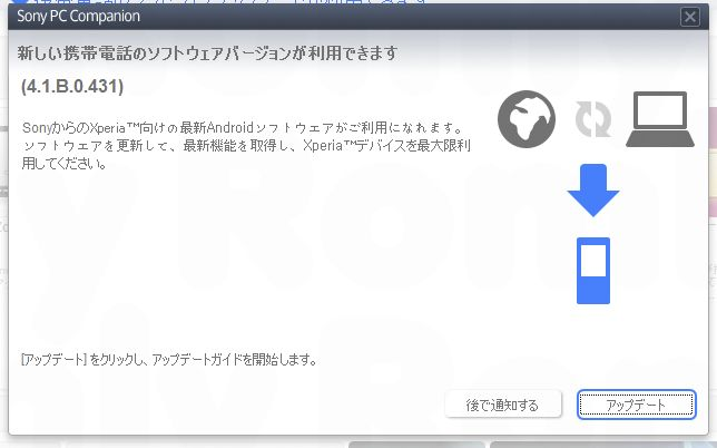 Xperia Mini Pro ICS Update1